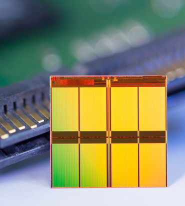 Micron crea un semiconductor flash NAND de 16 nanómetros.
